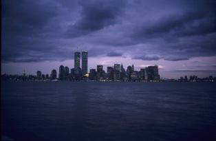 Dunkle Wolken über New York (vor 2001)