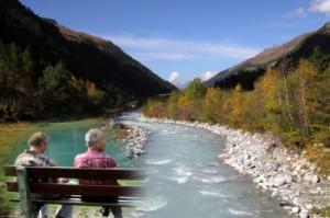 Rentner geniessen das Leben in der Schweiz.