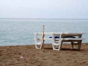 Sandstrand in Zypern