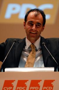 Christophe Darbellay, CVP-Parteipräsident