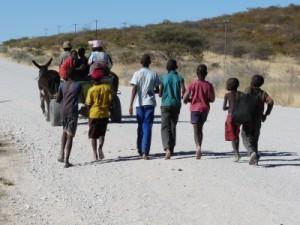Zukunft für Afrika - afrikanische Dorfkinder