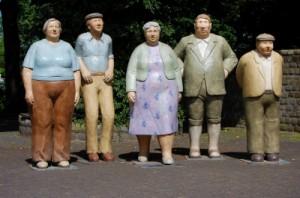 Eine Gruppe von älteren Menschen