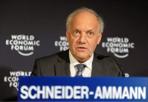 Bundesrat Schneider-Ammann am WEF in Davos 2011
