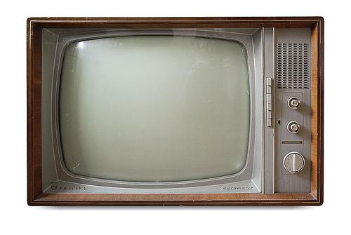 Altes Fernsehgerät