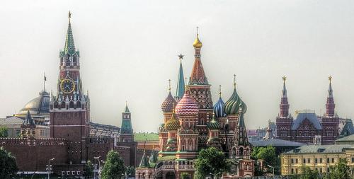 Klassische Ansicht von Moskau