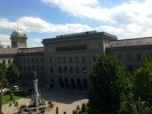 Bundesratshaus, Sitz des Bundesrates in Bern