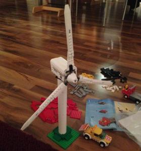 Windrad von Lego