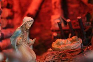 Krippe, Maria, Jesus