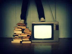 Livro ou TV - Buch oder Fernsehen?