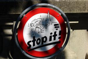 Stop it - Bern, Bundeshaus