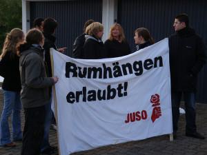 Juso in der Schweiz: Rumhängen erlaubt