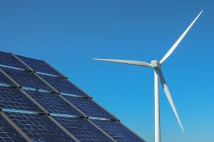 Solar- und Windenergie