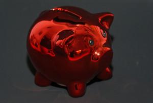 Sparschwein rot von helmchenx