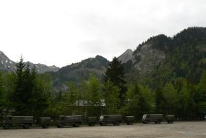 Lastwagen Schweizer Armee
