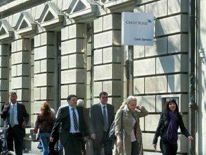 Schweizer Bank Finanzplatz