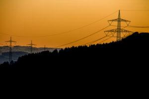 Energie Strommasten