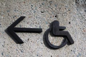 Kopfloses Behinderten-Symbol