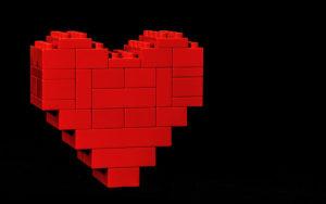 Herz aus Duplo